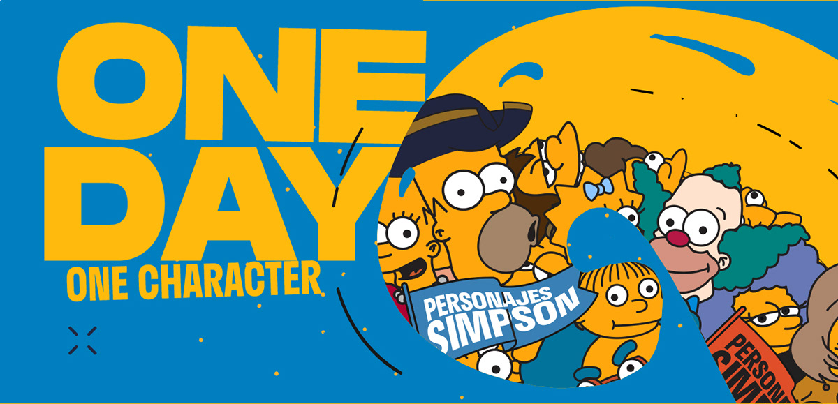 FOX Troiano Diego animation  Channel graphics Simpson branding tv motion design