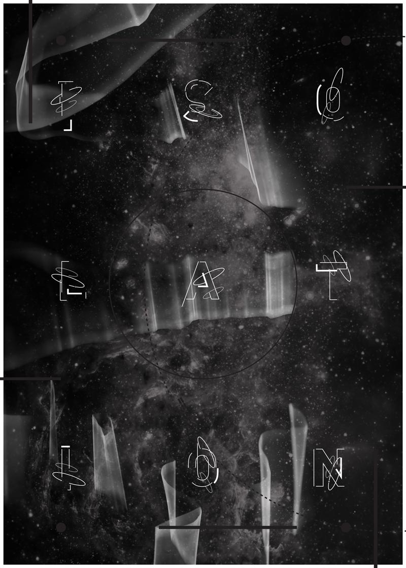 international space station iss lettering Space  Isolation AWE outer space carl sagan iPad DPS Digital Publishing adaa_2015 adaa_school western_washington_university adaa_country united_states adaa_digital_publishing