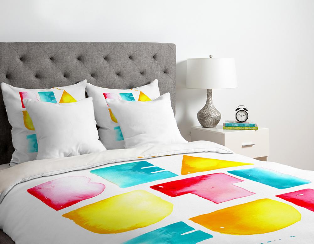 Adobe Portfolio watercolor  watercolour  color  fun  Home homegood  denydesigns DENY