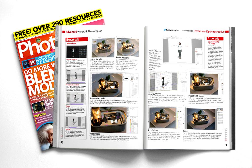 Photoshop Creative Magazine 159 on Behance