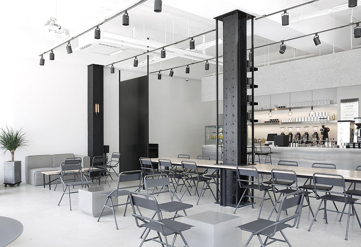 Ezer Coffee Cafeteria Space Interior Design On Behance
