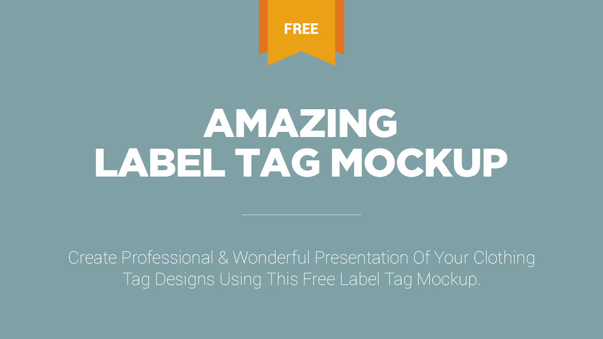 free and amazing label tag mockup on pantone canvas gallery