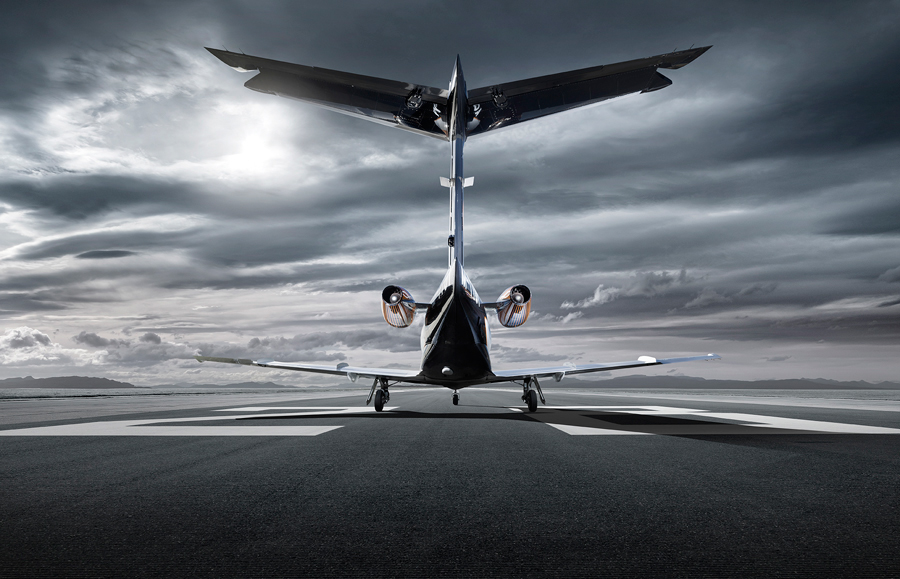 Phenom 100 Commercial Aviation Photography On Behance