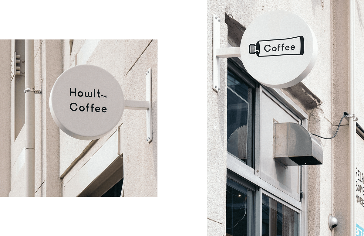 Howlt Coffee Sign