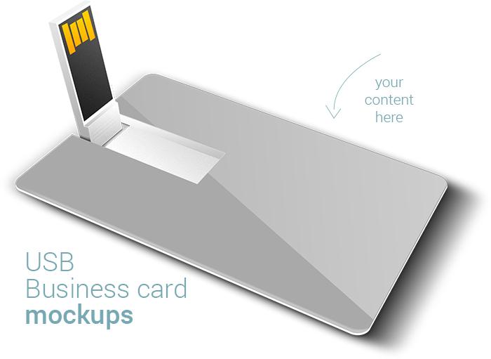 Free usb business card mockups on behance link colourmoves