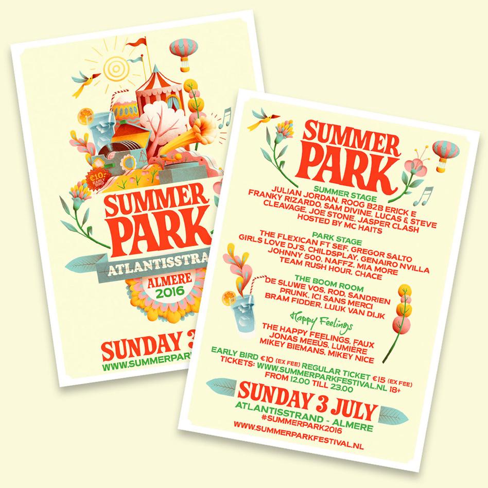 Adobe Portfolio Summer Park Festival summer park Atlantisstrand Art of Dance Zender & Chaos Zender chaos summer Sander Pappot Christiaan Dros festival