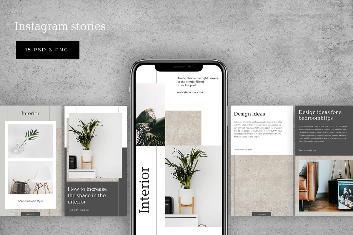 Interior Social Media Template On Behance