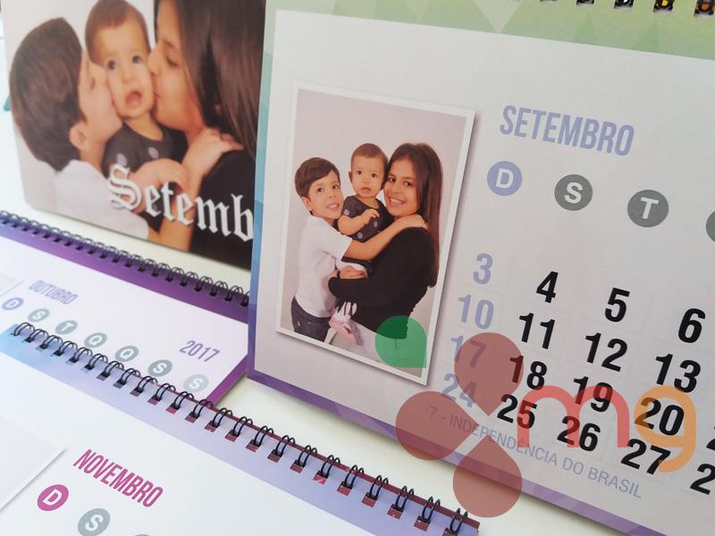 calendario personalizado papelaria comemorativa presente Brinde corporativo