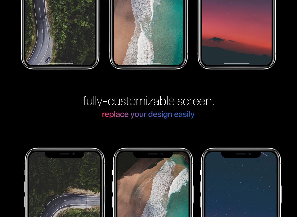 iphone iphonex apple device UI ux iphone8 iphone10