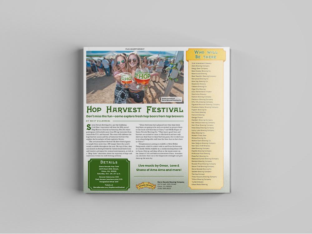 advertisment advertorial beer brewery newspaper