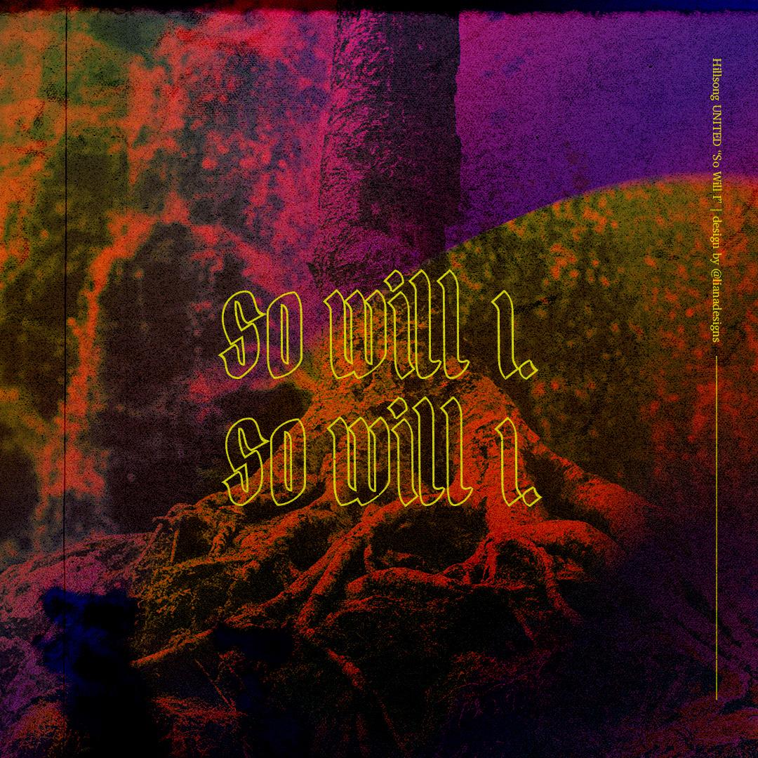 Christian Cover Art gradient hillsong Lyrics music musician roots trees