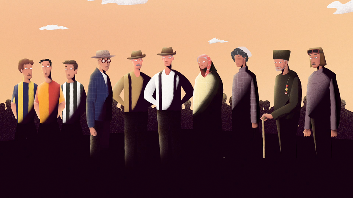 animation  Digital Art  ILLUSTRATION  story storytelling   crowdfunding Turkcell arikovani motion graphics