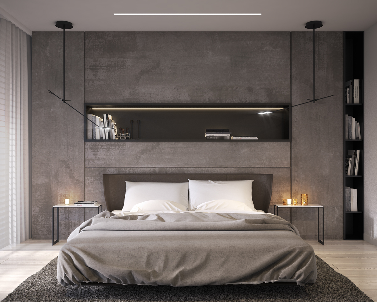 BEDROOM IN PRIVATE APARTMENT vis for