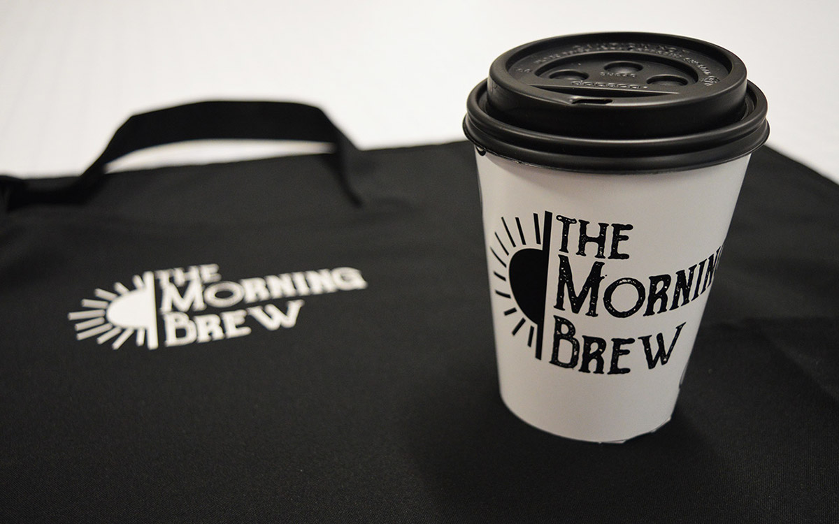 The Morning Brew on Behance