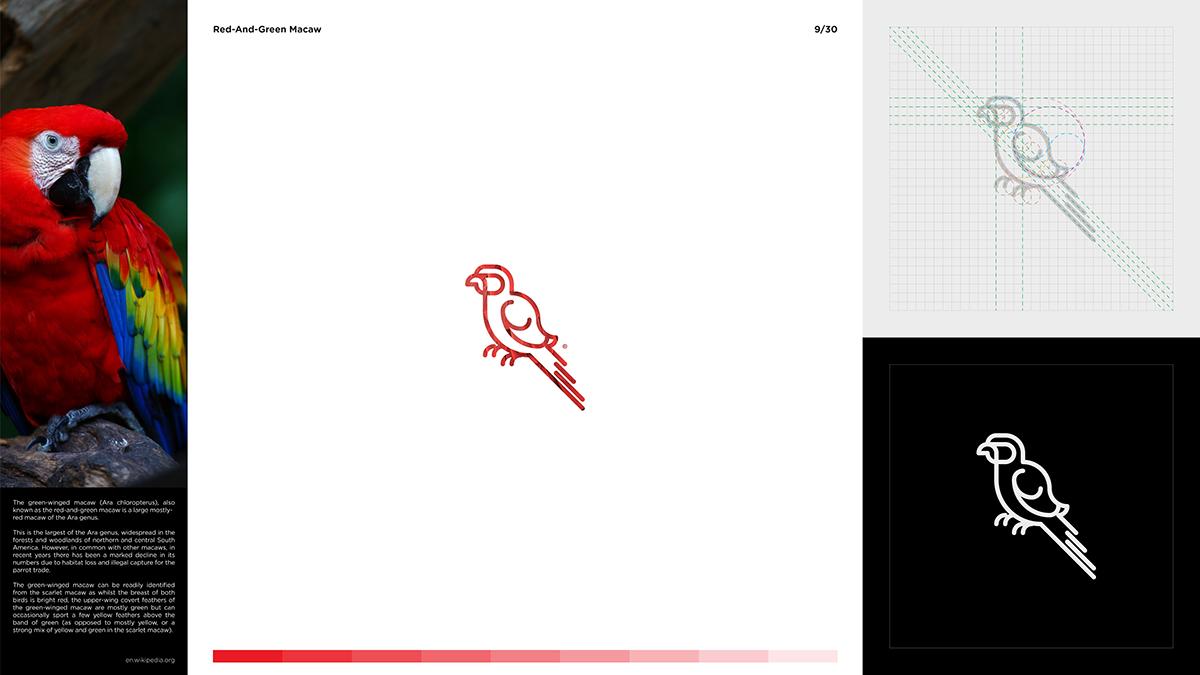 animals animal minimal logos signs icons pictograms marks days with simple Minimalism stroke path animal logo