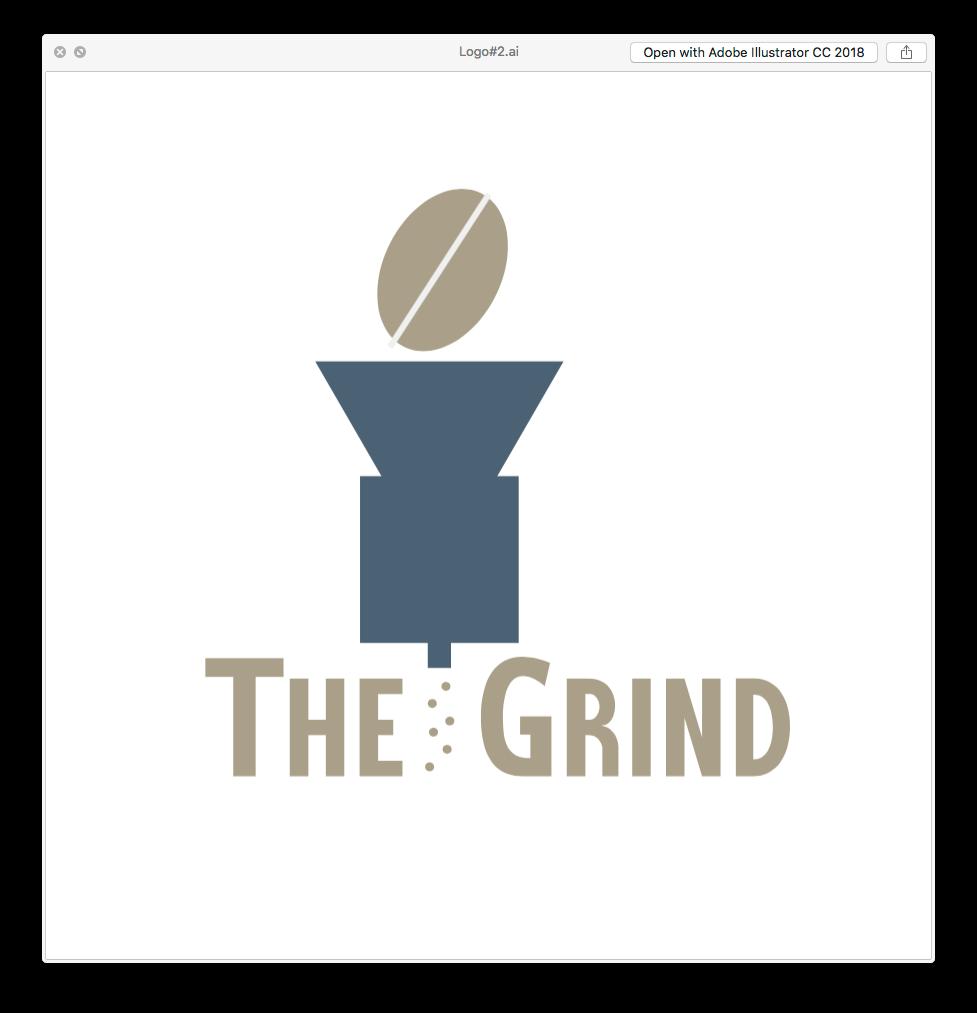 The Grind Coffee Logo