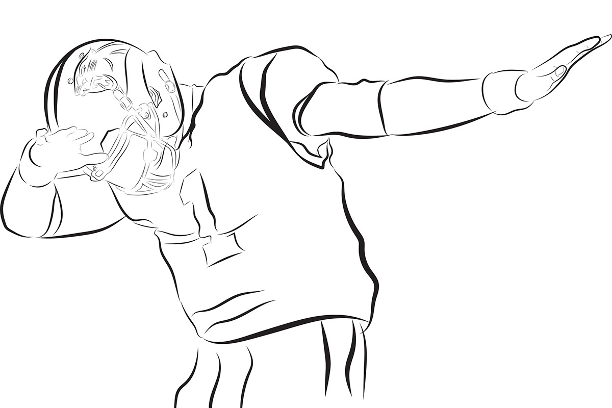 printable cam newton coloring pages - photo#7