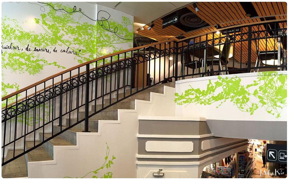 Décoration murale Vitrophanie decoration vitres design mural
