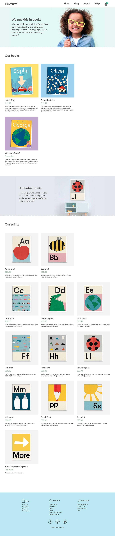 squarespace heywow! books children grid Ecommerce custom platform Bad Dinosaur The Printer's Son