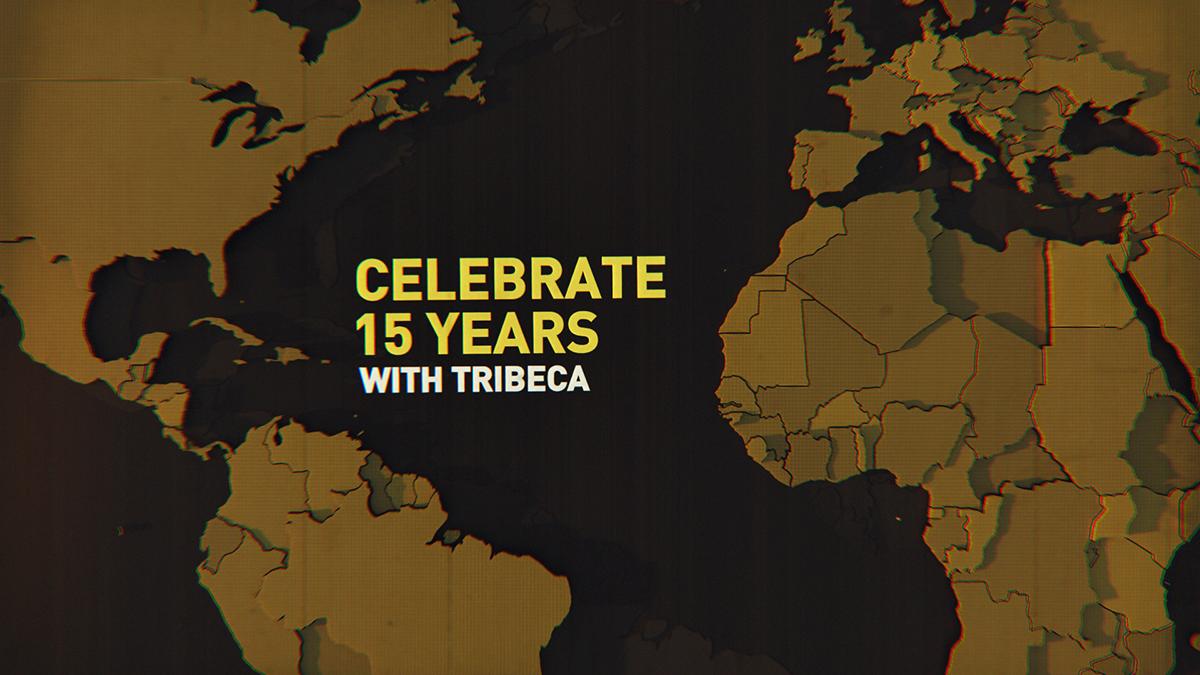 Tribeca Film Festival tribeca filmfestival informational nyc New York 3D city yellow braun