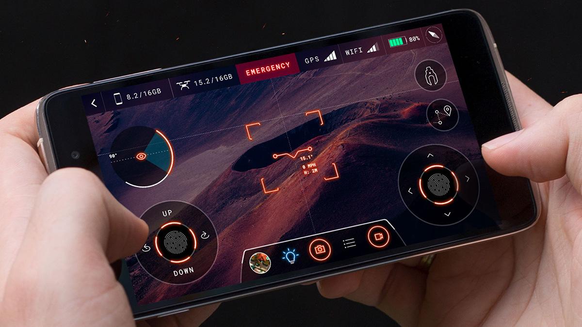 drone UI/UX sci-fi futuristic ILLUSTRATION  branding  ios android game graphic design