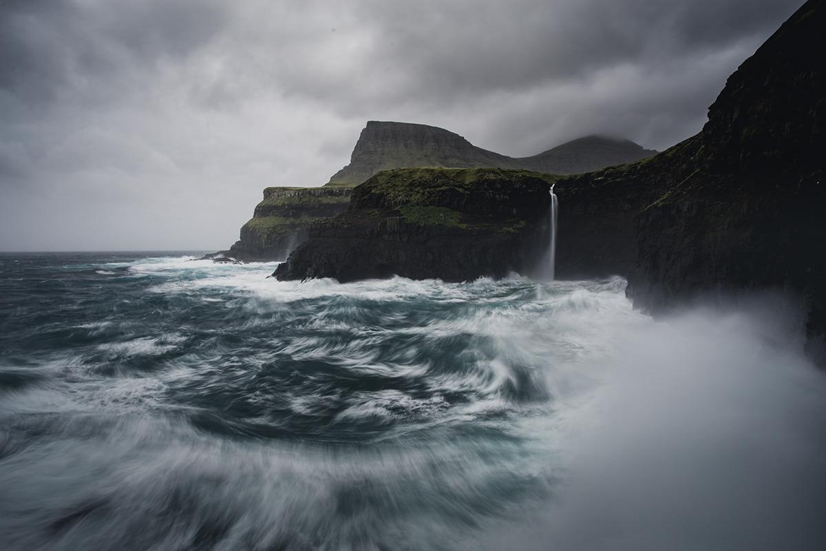 adventure Photography  Landscape Editing  digital photogrpahy outdoors mountians Ocean atlantic faroe islands