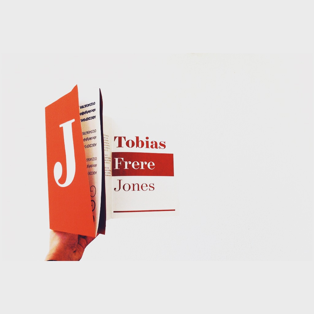 #Tobias Frere-Jones #desdobrável #cartaz  #Indesign #Design #graphicDesign