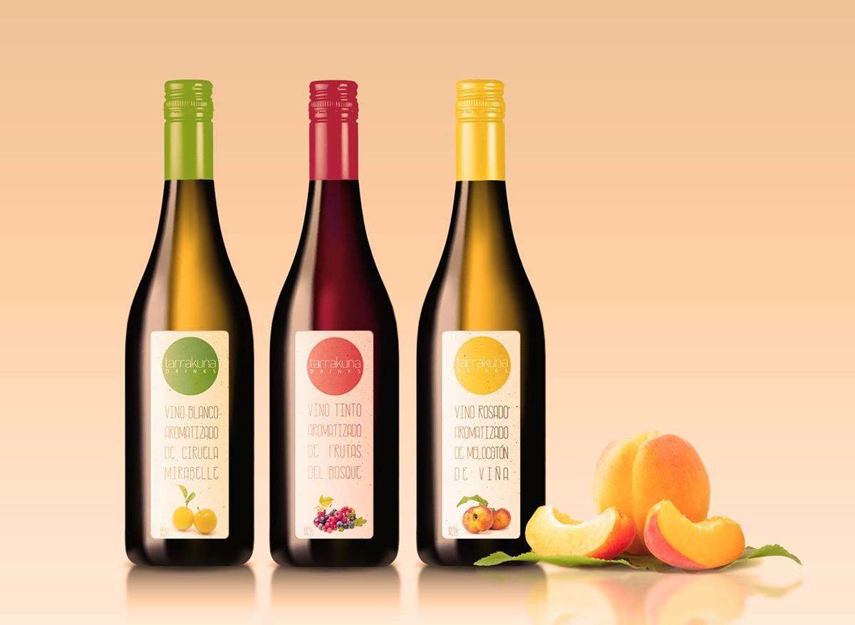 aromatised wine wine Label