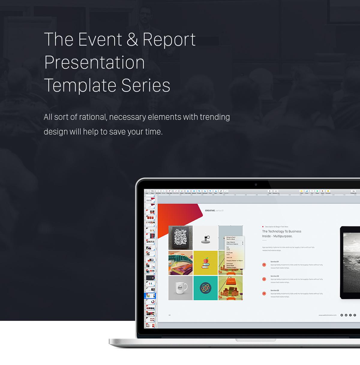 Creative powerpoint theme event report theme series by simplesmart creative powerpoint theme event report theme series toneelgroepblik Gallery