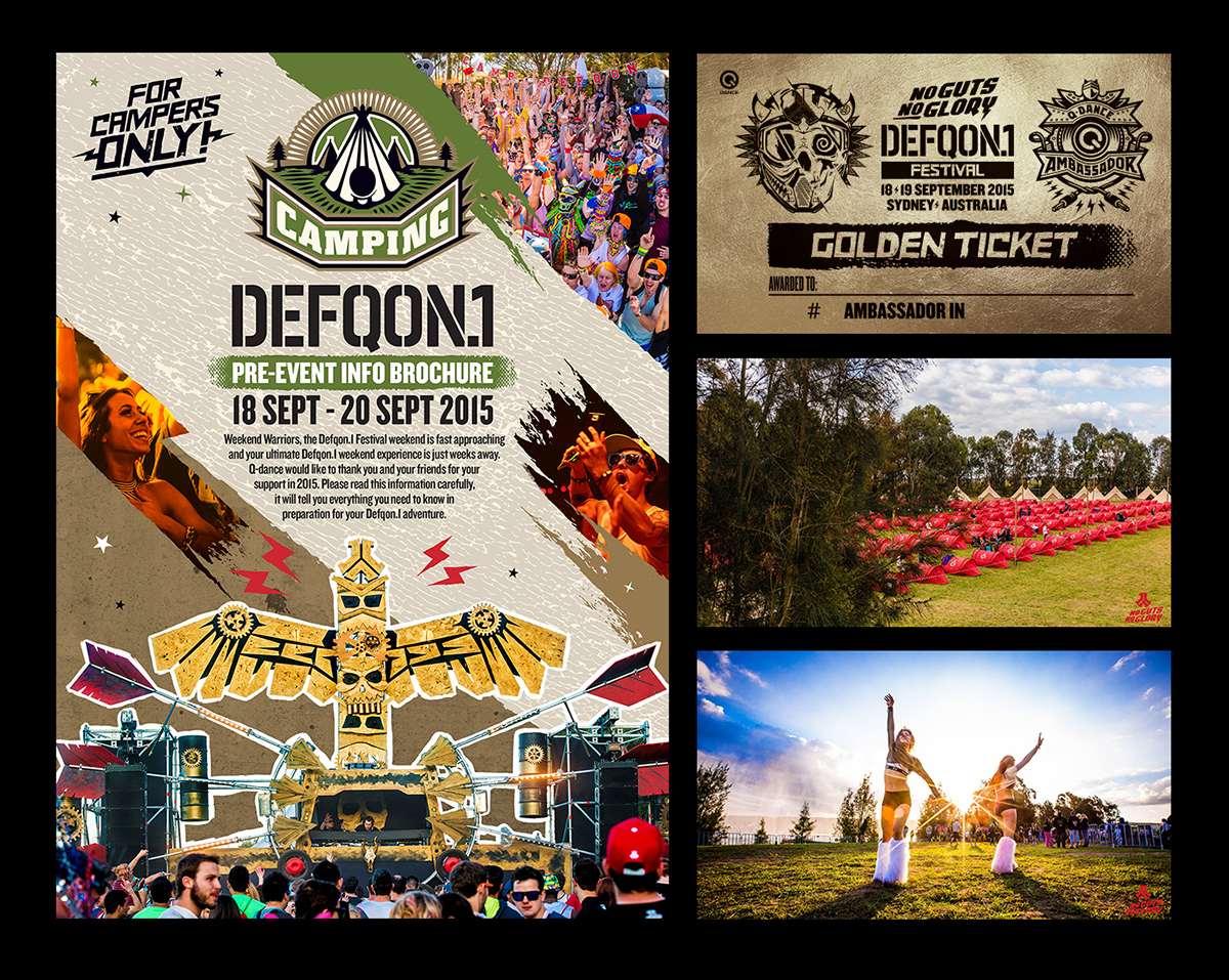 Defqon 1 Australia 2015 on Behance