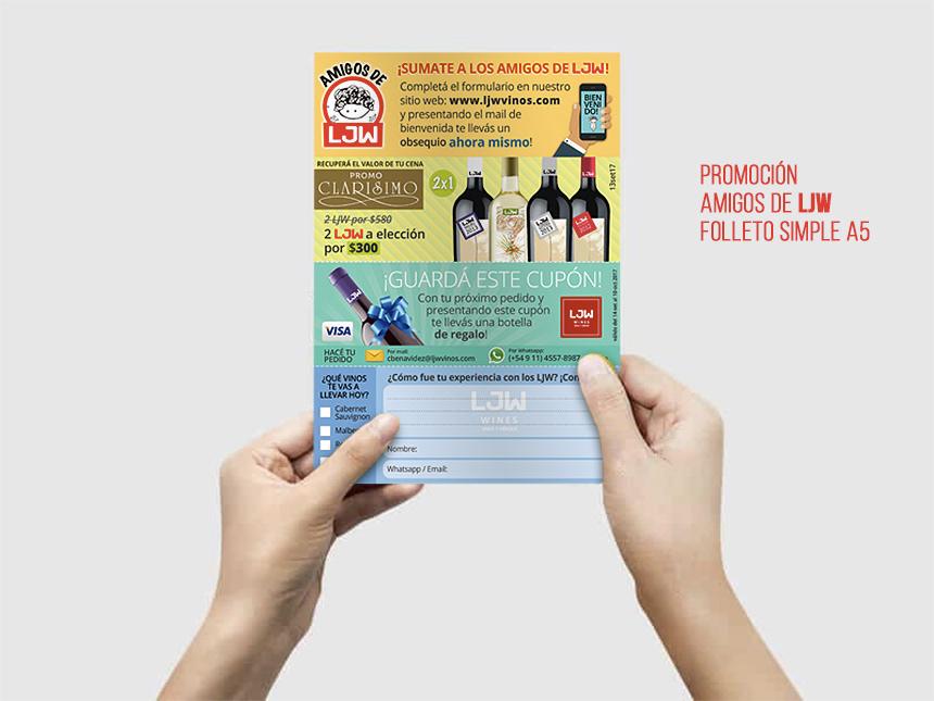 folleto flyer color print impreso