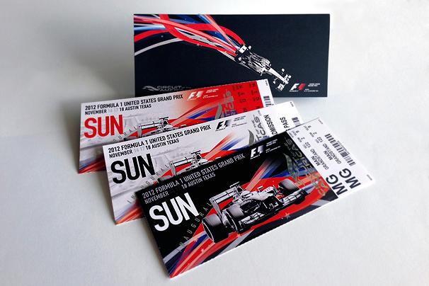 brochure design austin - u s formula 1 grand prix austin on behance