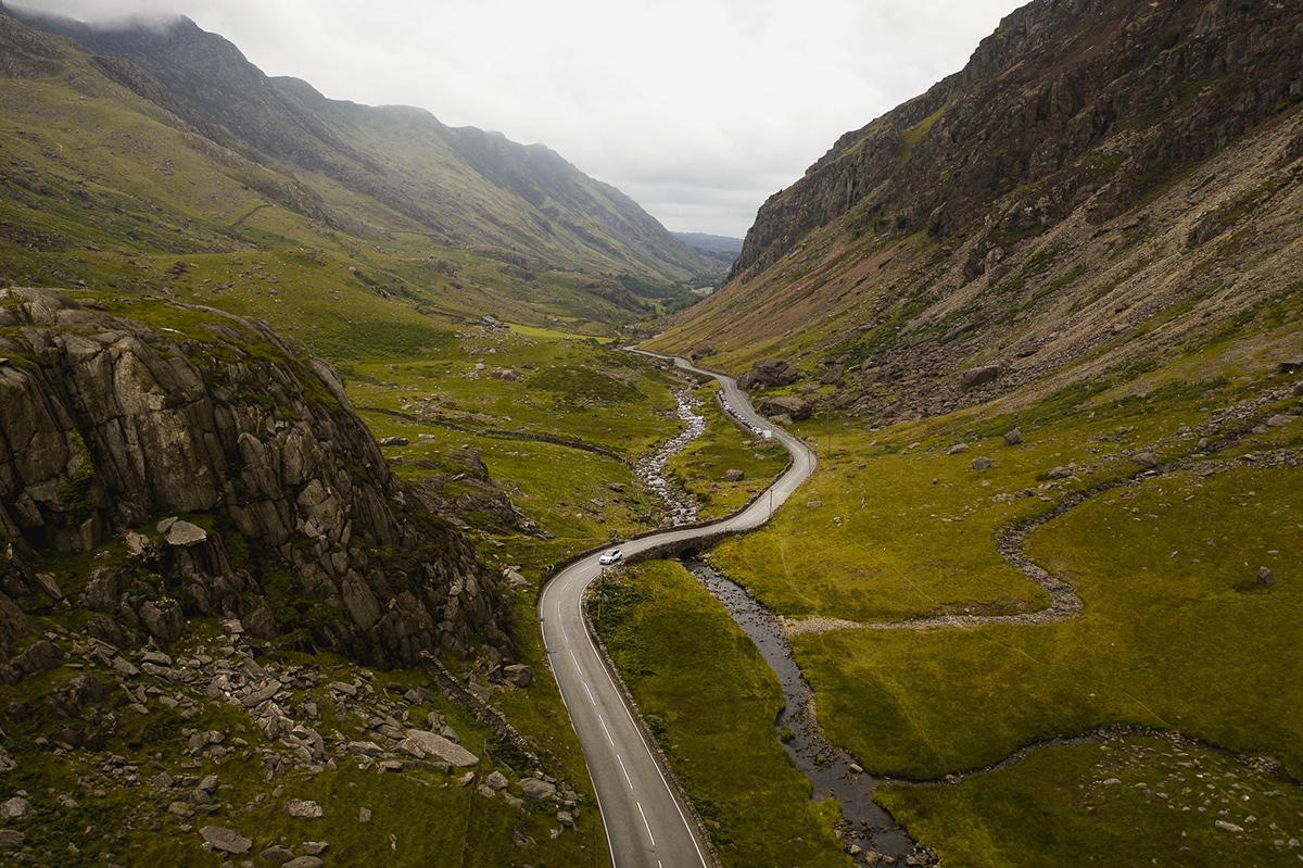 adventure automotive   Snowdonia commercial exploring outdoors Photography  Travel Adventure photography Automotive Photography