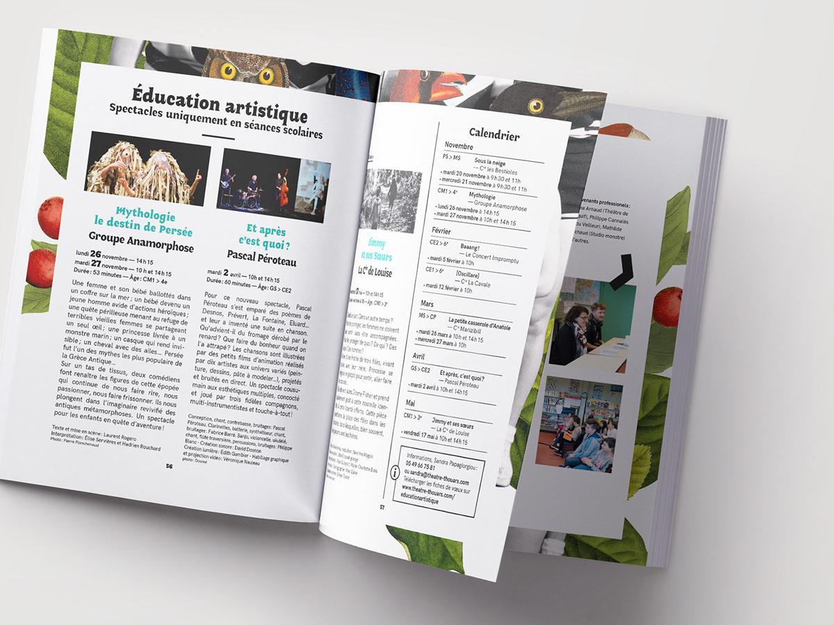 Adobe Portfolio graphisme ILLUSTRATION  saison Theatre