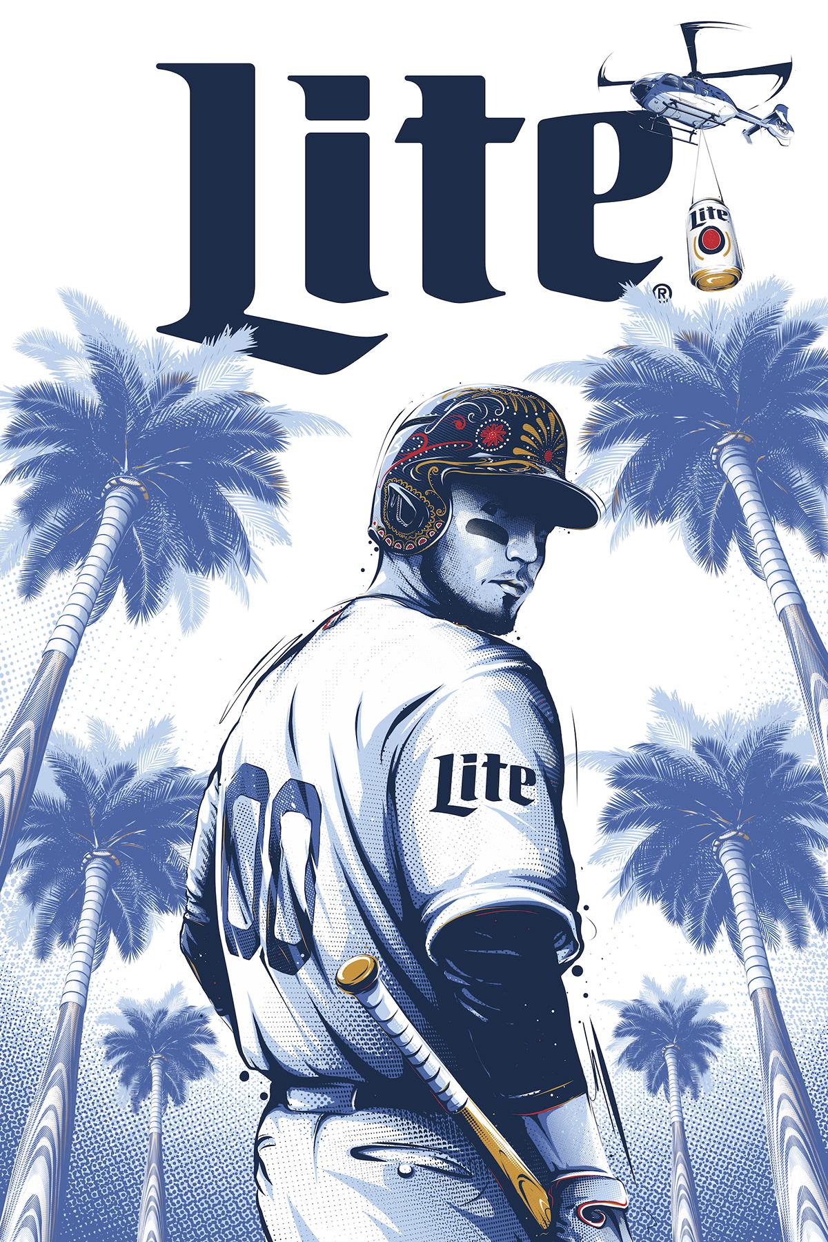 Image may contain: baseball and cartoon