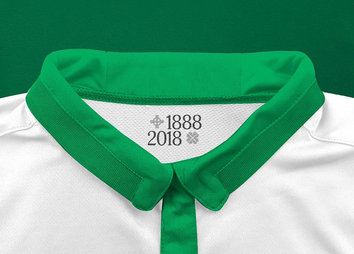 sports shoes f1a65 ba486 Celtic FC New Balance Away Jersey 18/19 Concept Kit on Behance