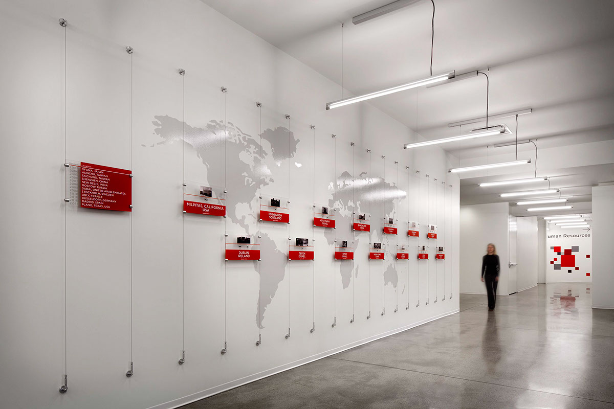 Three installations sandisk hq with vdta on behance for Office design history