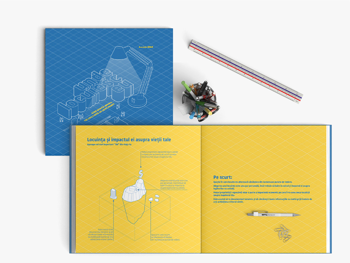 Isometric book design real estate infographic data visualization apartment buying