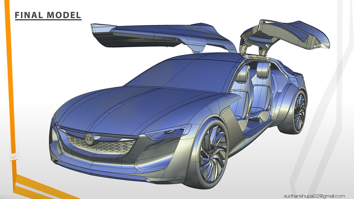 Opel Monza Concept On Behance