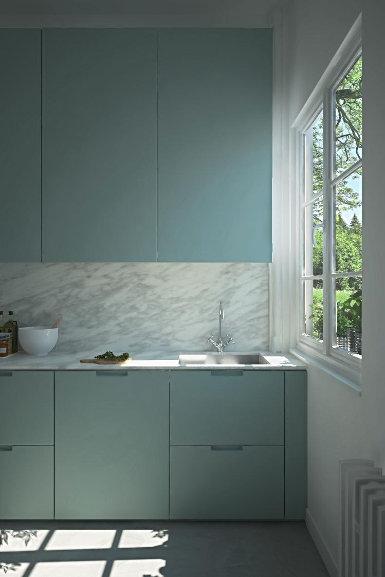 Marble Kitchen on Behance