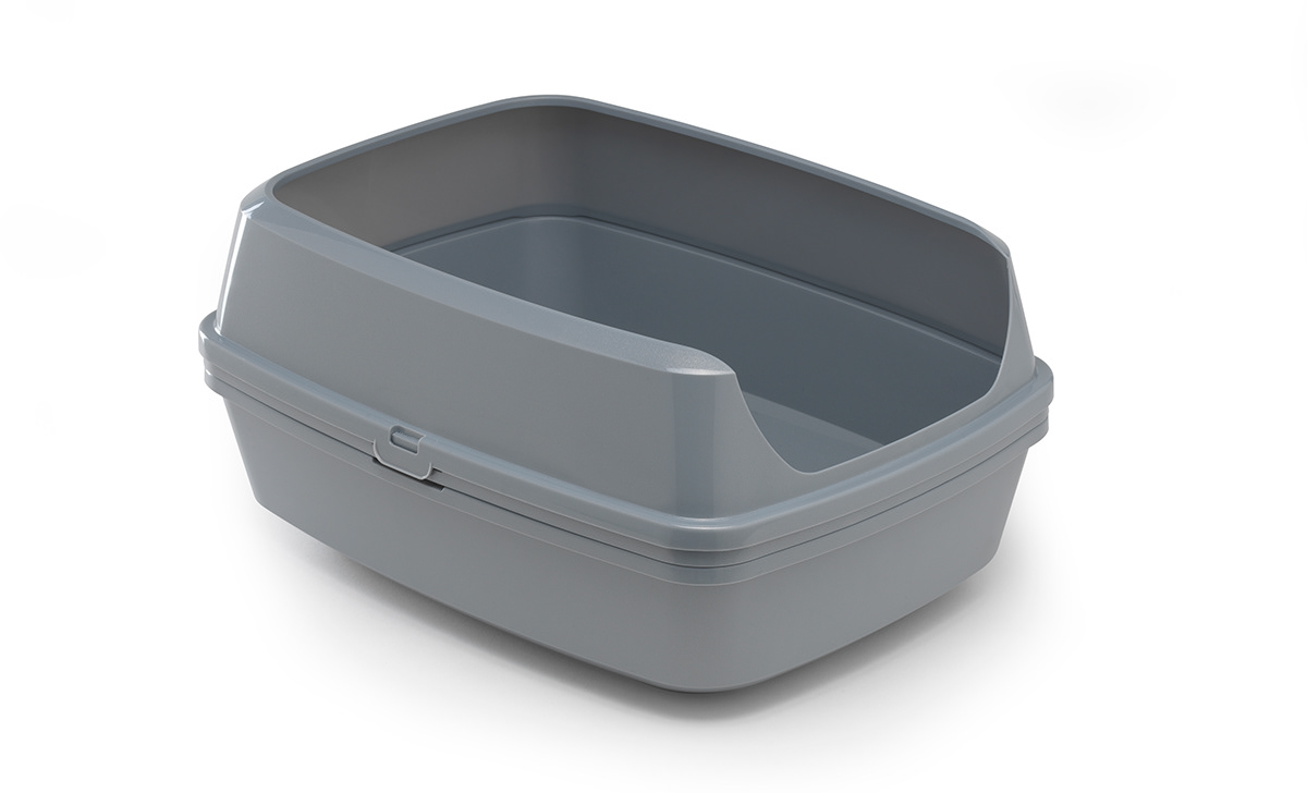 Cat Litter box toilet animal plastic