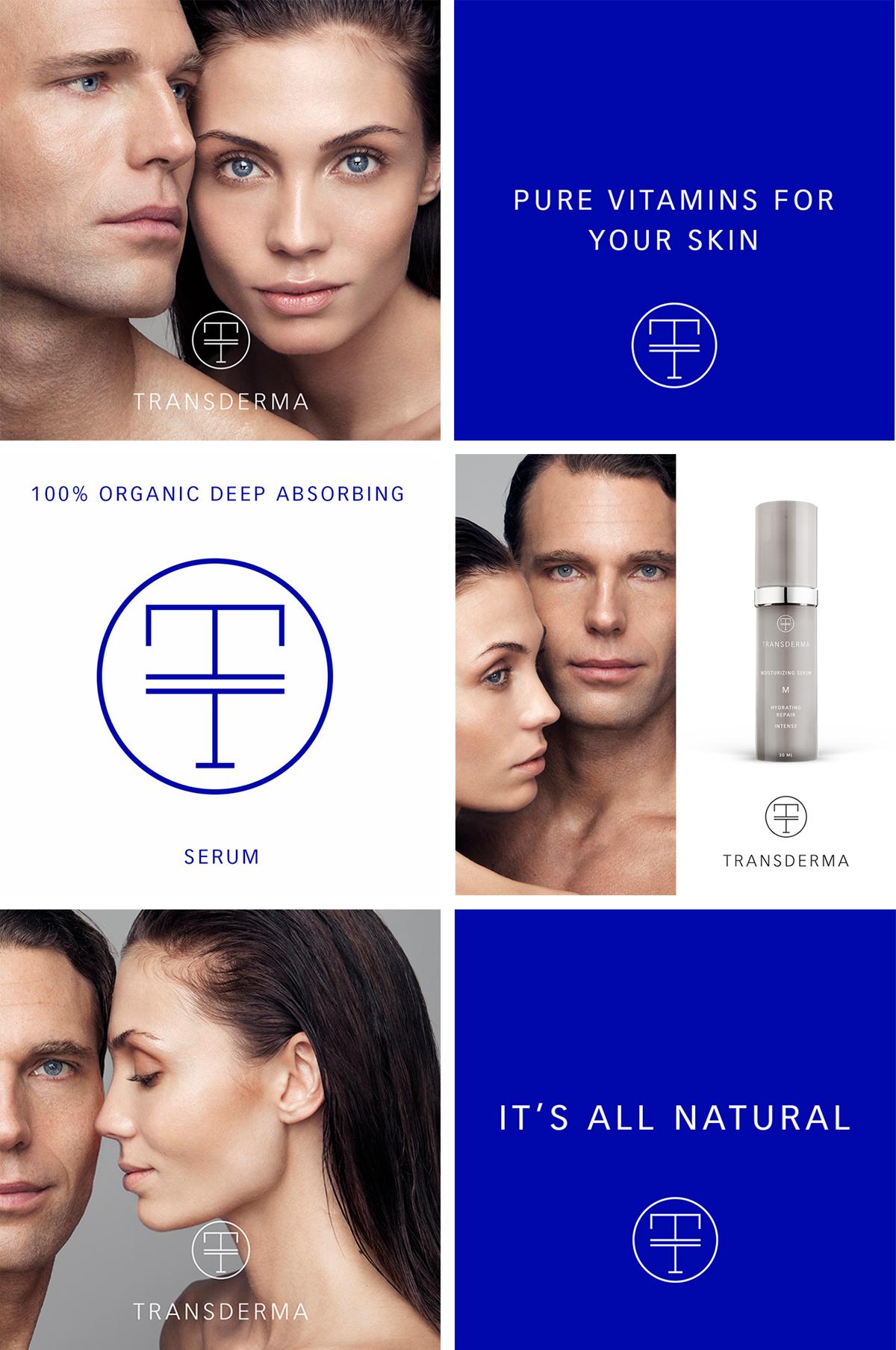 identity design skin care Stockholm Sweden photo beauty bottle cosmetics logo symbol Logotype typographic creative science