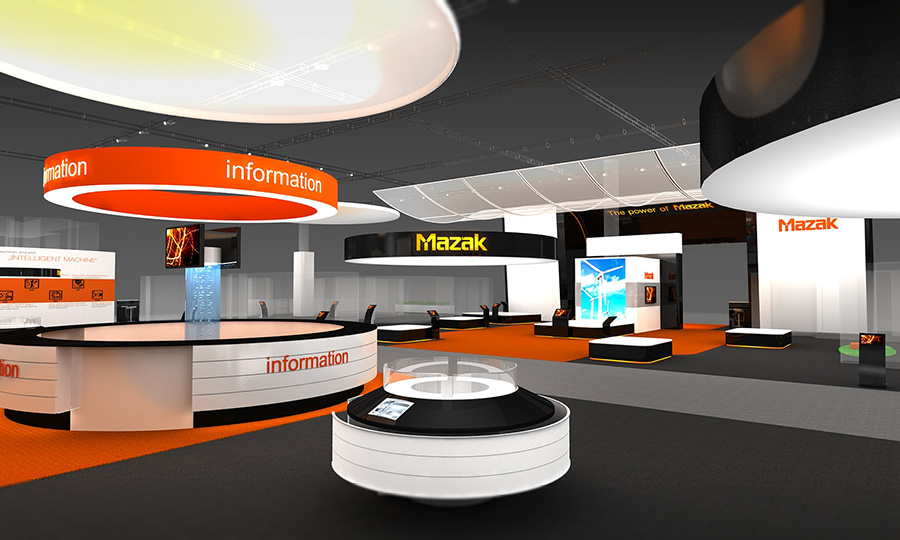 "Exhibition Stand Designer Job Description : ""mazak company exhibition stand concept on behance"