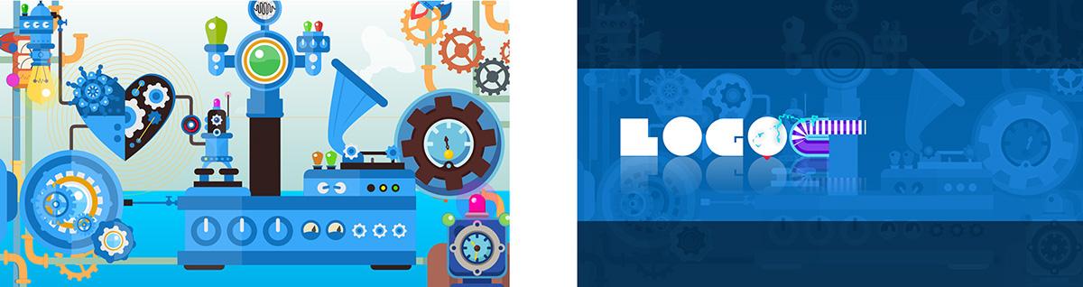 logogramma,Lab Design,lab style,Electronics,STEAMPUNK,Animation Flat,toybon,animated font,Enzo Benedetto,joythevision,pipes,Scientist