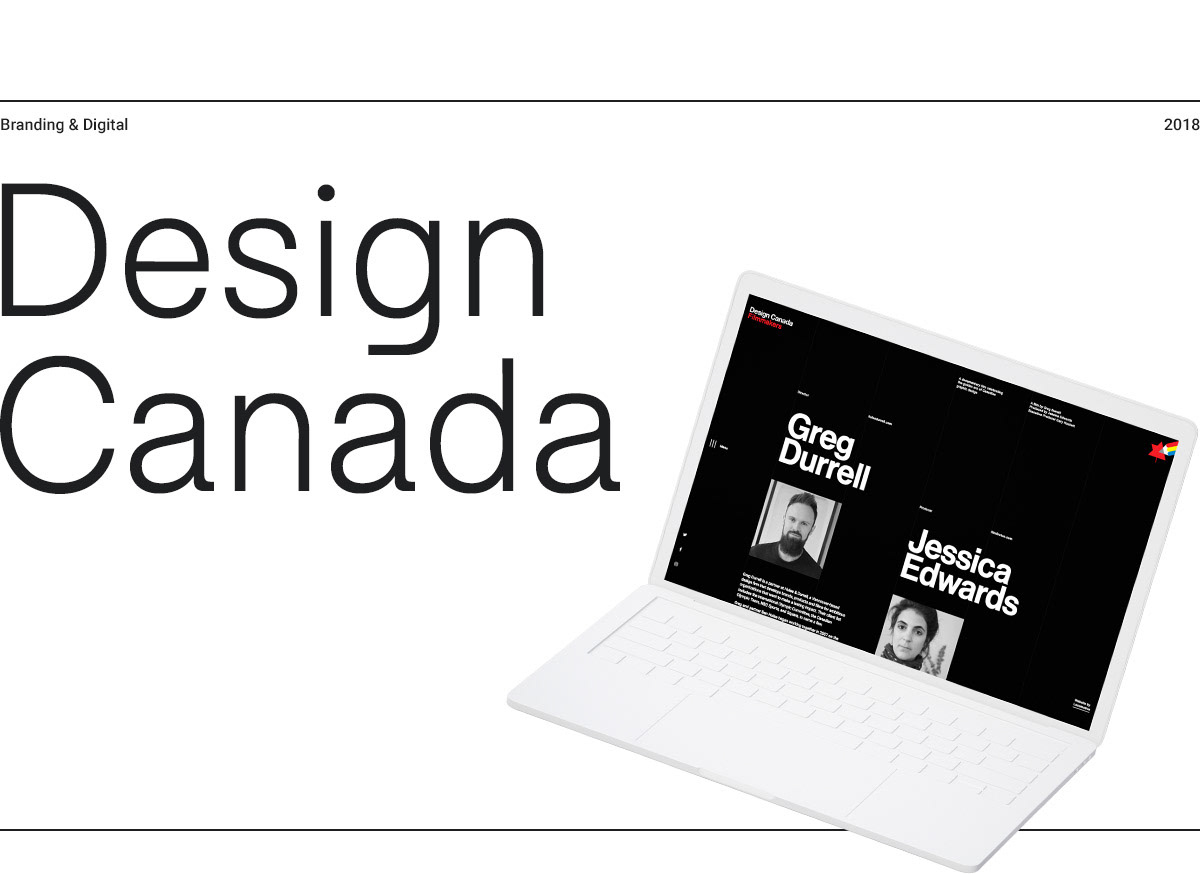 design Canada swiss grid typography   interactive Montreal Responsive Documentary  transitions