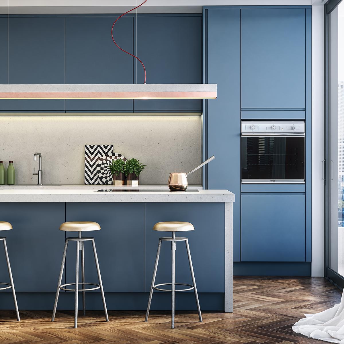 3D Visualization vray archvis archviz kitchen