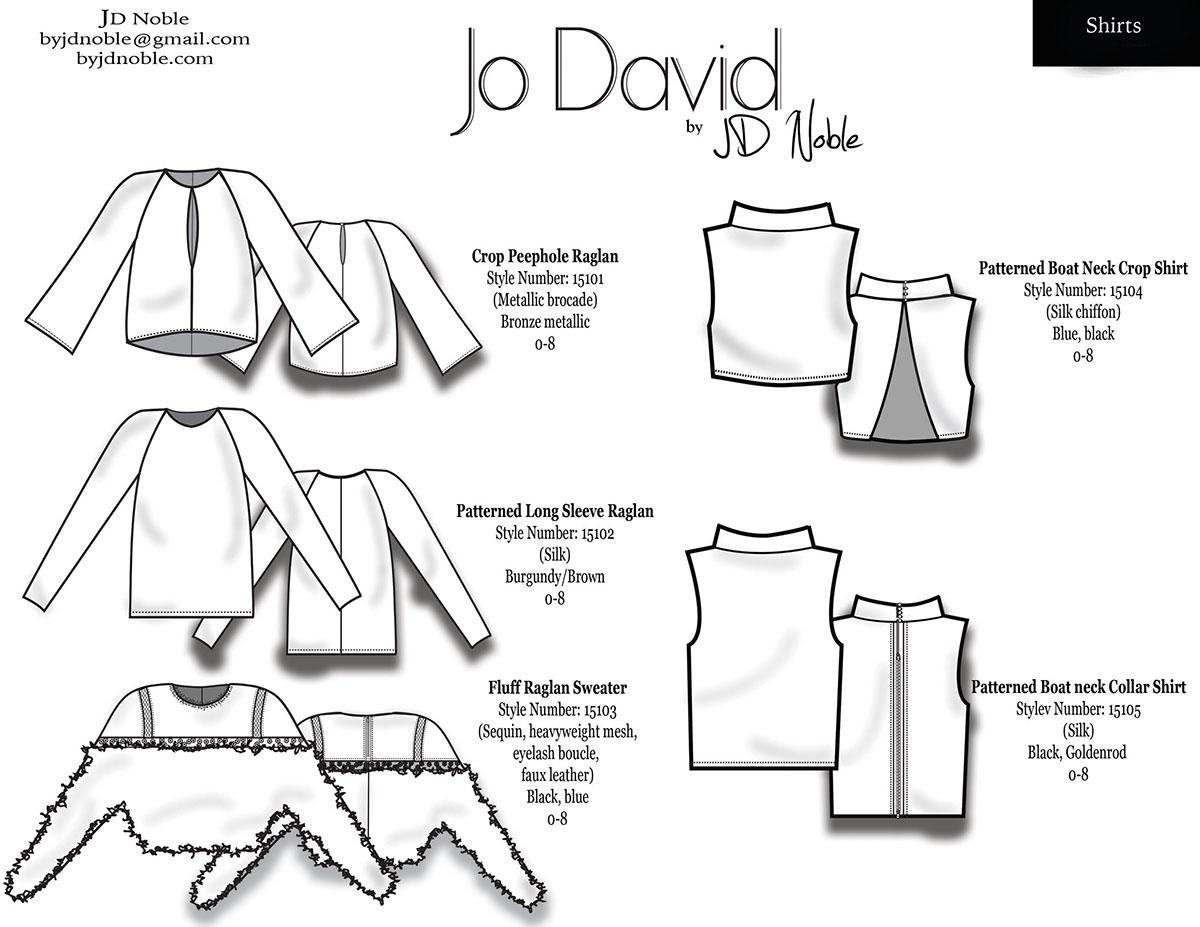 fashion design scadfashion  SCAD Fashion  Technical Design cad Flats