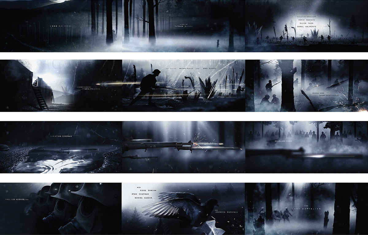 main titles storyboarding   art direction  compositing title sequence design graphic design  concept design Style Frames adobeawards