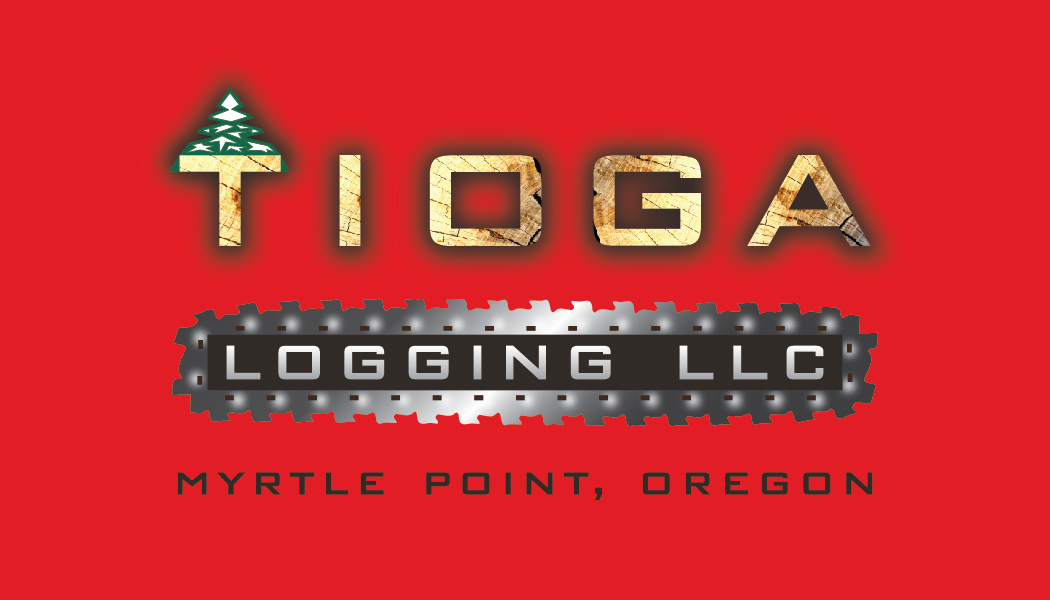 TIOGA LOGGING | business card design on Behance