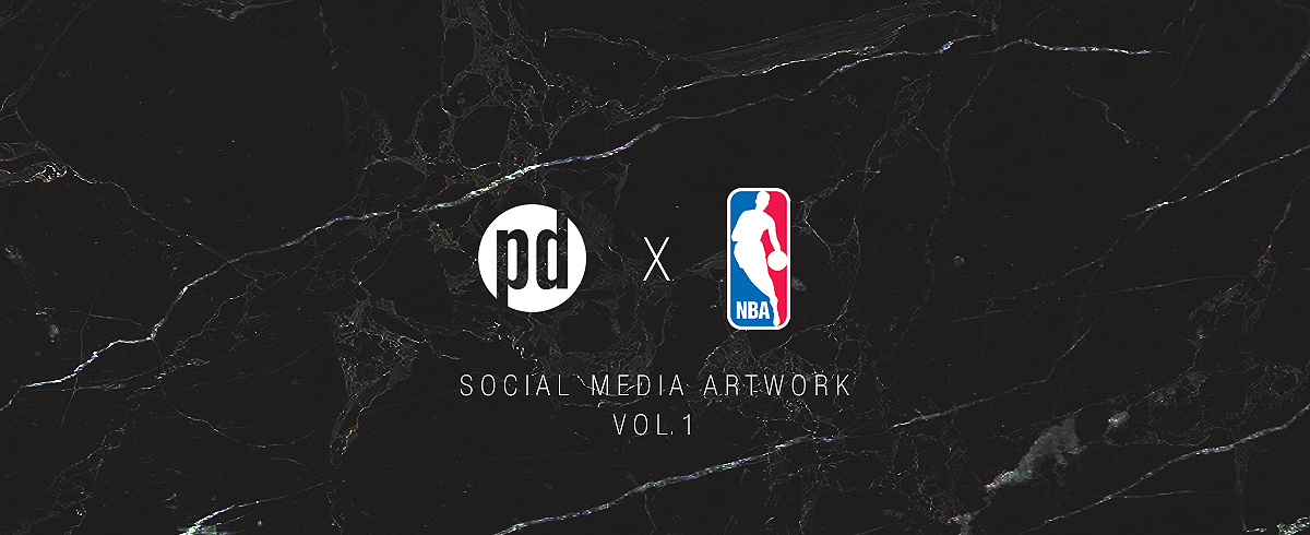 NBA Social Media Artwork Vol. 1